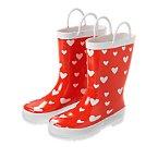 Heart Rain Boots
