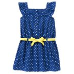 Polka Dot Flutter Dress