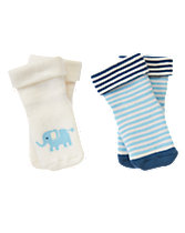 Elephant Socks Two-Pack