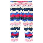 Wave Print Leggings