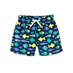 Fish Swim Trunks