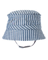 Striped Chambray Bucket Hat