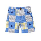 Sailboat Patchwork Shorts