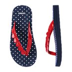 Heart Dot Flip Flop