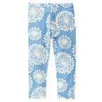 Blue Dandelion Leggings