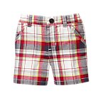 Plaid Shorts (Need sample for waist details, etc.)