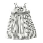 Striped Bow Dobby Dress