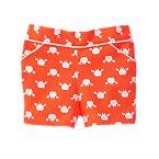 Crab Print Shorts