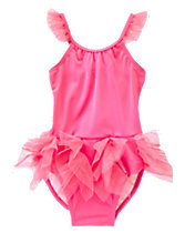Tutu Ruffle One-Piece Swimsuit