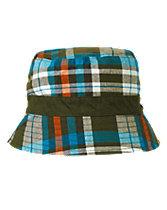 Reversible Plaid Hat