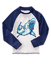 Digital Shark Rash Guard