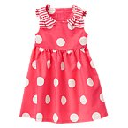 Bow Polka Dot Dress