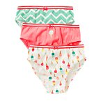 Ice Cream Underwear Three-Pack
