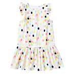 Neon Painted Dot Dress