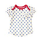 Polka Dot Pocket Top