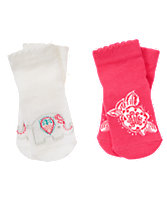 Oasis Flower Socks Two-Pack