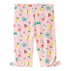 Tropical Fruit & Flowers Leggings