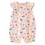 Tropical Fruit & Flowers One-Piece