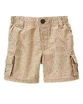 Rainforest Animals Cargo Shorts