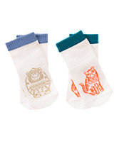 Monkey & Tiger Socks Two-Pack