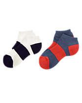 Sporty Ankle Socks Two-Pack