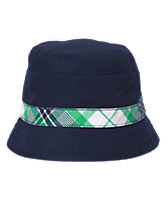 Plaid Stripe Bucket Hat