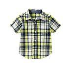 Neon Plaid Shirt
