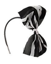 Chiffon Zebra Headband