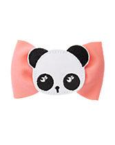 Panda Bow Clip