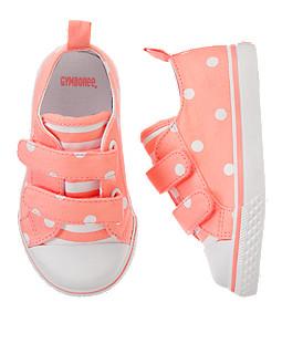 Neon Dot Sneakers