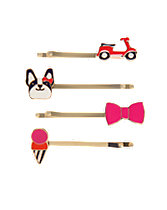 Puppy & Scooter Clips Four-Pack
