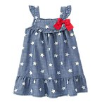 Denim Star Dress