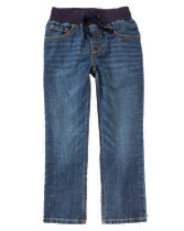 Pull-On Jeans