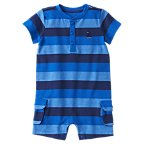 Sailboat Striped One-Piece