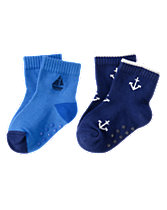 Sailboat & Anchor Socks Two-Pack