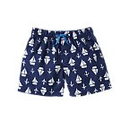 Sailboat & Anchor Swim Trunk