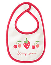 Berry Sweet Reversible Bib
