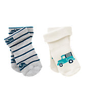 Produce Truck Socks Two-Pack