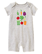Happy Veggies One-Piece