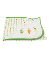 Happy Veggies Reversible Blanket