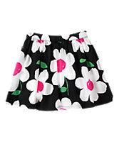 Daisy Print Skirt