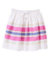 Sparkle Striped Skirt