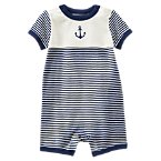 Anchor Striped One-Piece