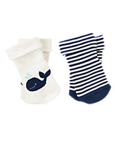 Whale Socks Two-Pack