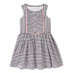 Striped Pom-Pom Dress