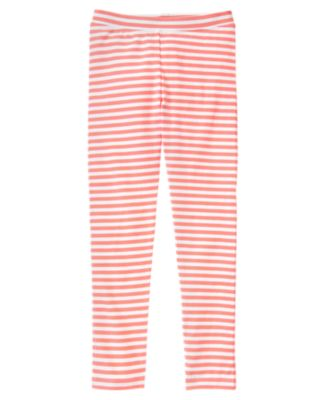 Neon Striped Leggings