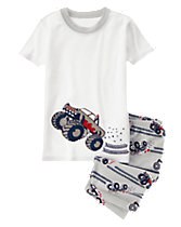 Monster Truck Shortie Two-Piece Gymmies®