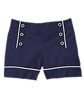 Triple Button Shorts