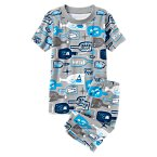 Sleepy Message in a Bottle Shortie Two-Piece Gymmies®