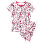 Flamingo Print Shortie Two-Piece Gymmies®